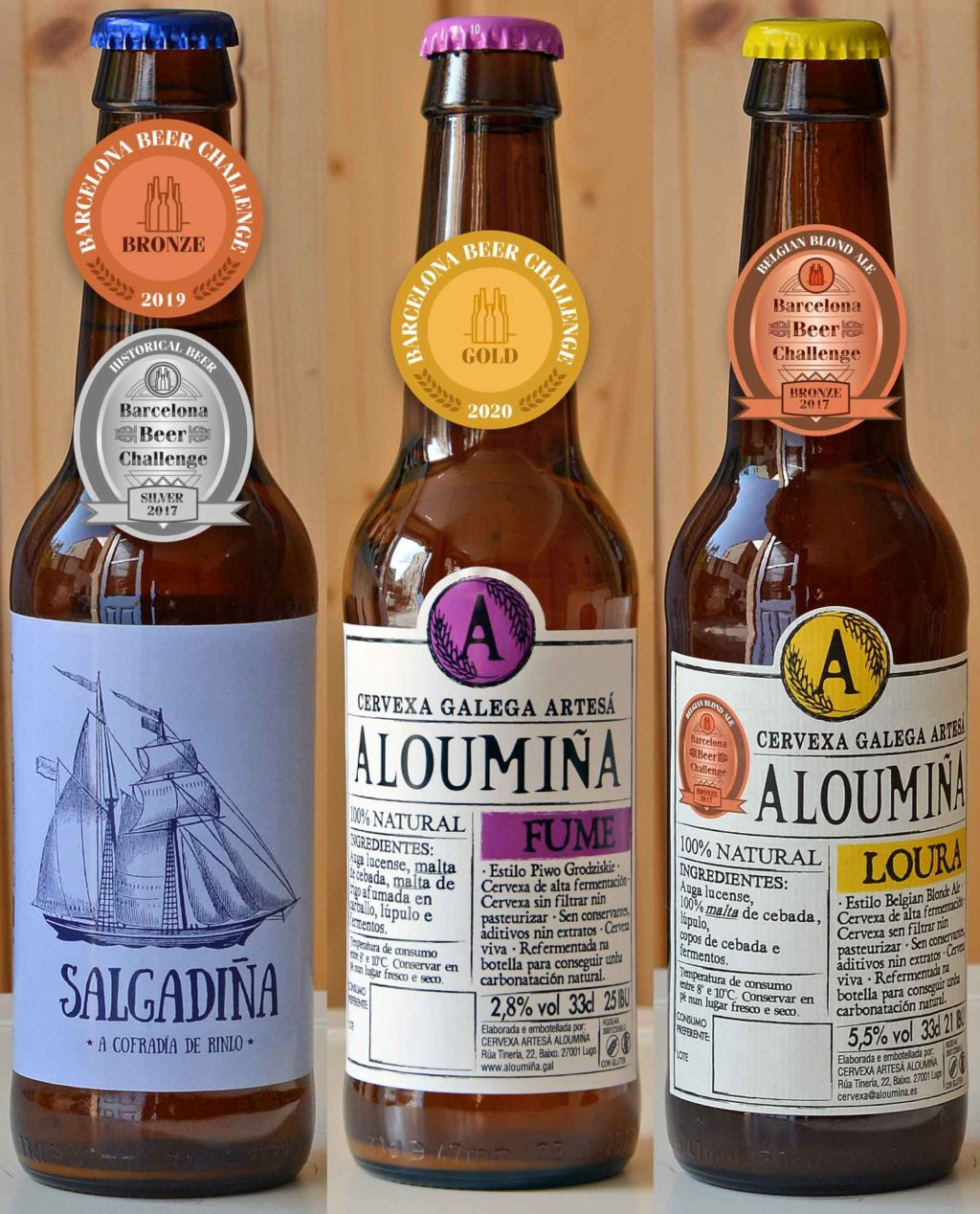 aloumina-cervexa-artesana-craft-beer-caja-variada-medallas-bbf-bbc-barcelonabeerchallenge